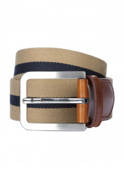 Belt canvas two-tone