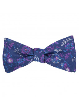 Bow tie fantasy in pure silk