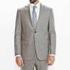 Costume semi-fitted flannel wool Vitale Barberis Canonico