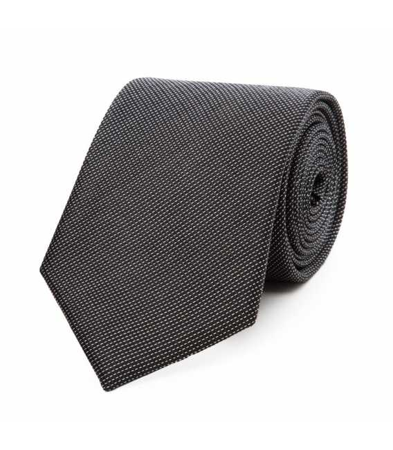 Tie in pure silk quilted
