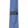 Tie in pure silk blue patterned