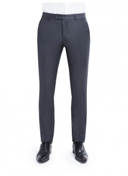Pants tapered wool Barberis Canonico 110's