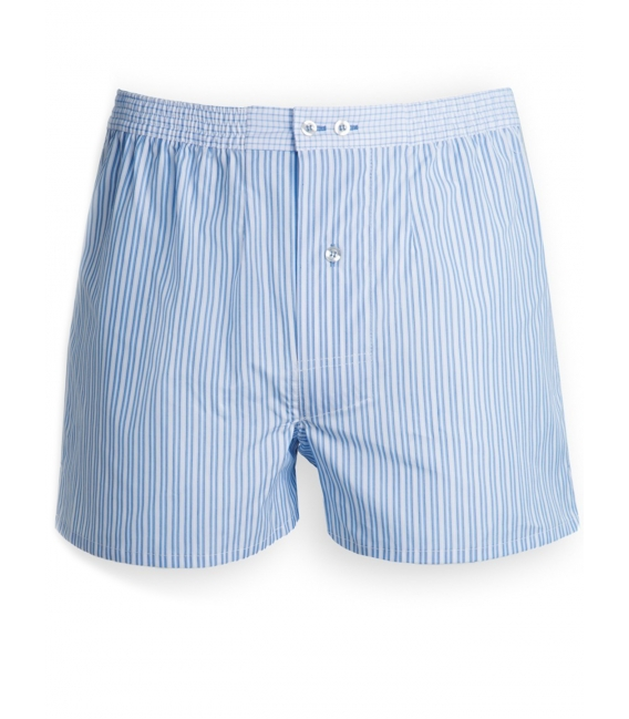 Boxer shorts man 100% cotton double twisted