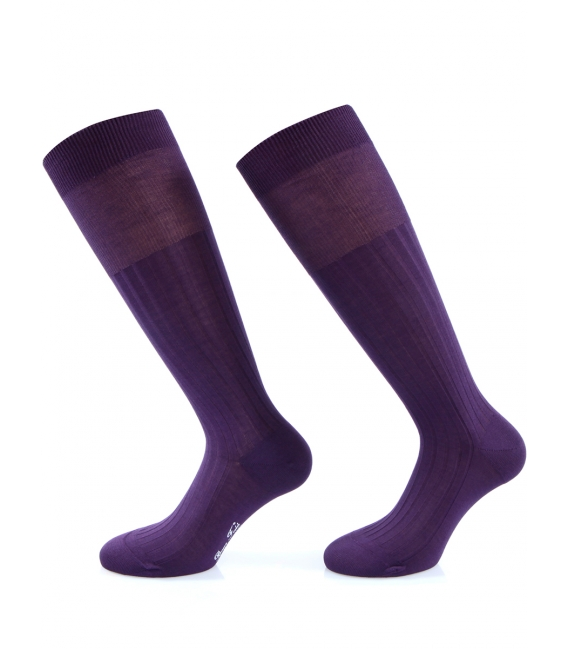 Coloured socks high man in over of Scotland 100% cotton