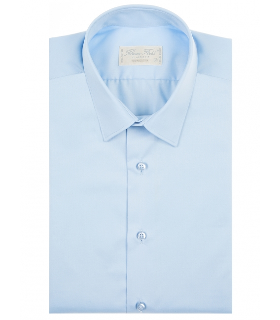Shirt man right in pure cotton