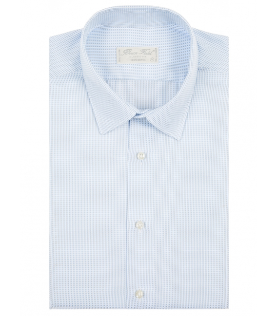 Shirt 100% cotton classic fit plaid