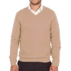 Mens sweater 100% cashmere end V-neck