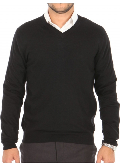 80191f1cb05 Mens sweater 100% cashmere end V-neck