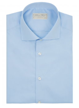 Shirt slim fit classic pure cotton Italian collar