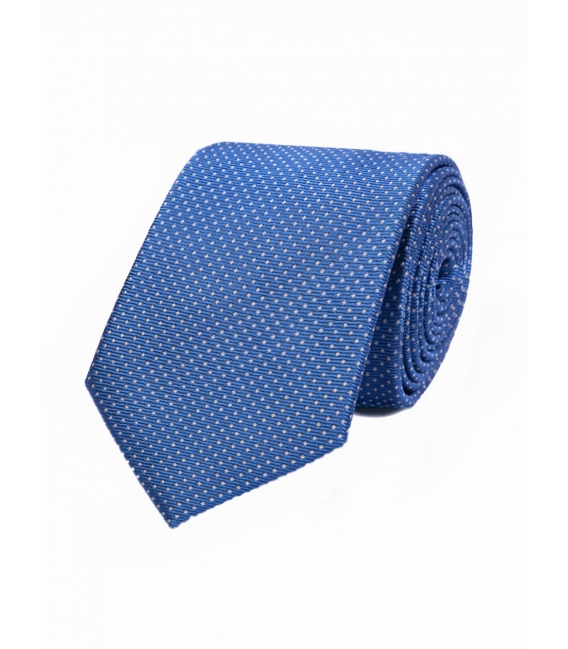 Tie in pure silk square bullets