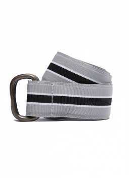 Belt striped canvas