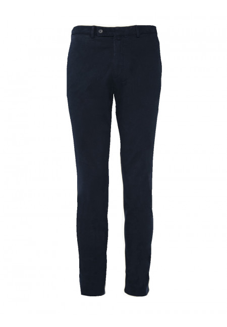 Pantalon ajusté coton stretch