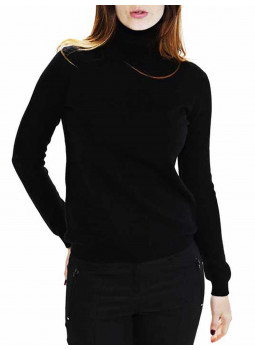 Sweater, women turtleneck cashmere and wool
