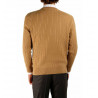Sweater man cashmere twisted