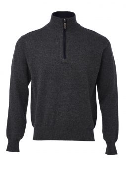 Cashmere and Wool Polo